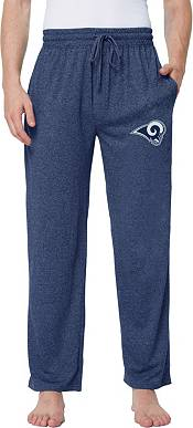 Concepts Sport Men's Los Angeles Rams Quest Navy Jersey Pants product image