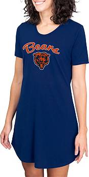 Concepts Sport Women's Chicago Bears Navy Nightshirt product image