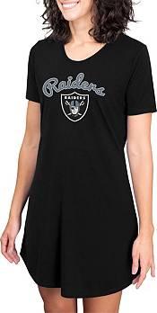 Concepts Sport Women's Las Vegas Raiders Black Nightshirt product image