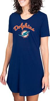Concepts Sport Women's Miami Dolphins Navy Nightshirt product image