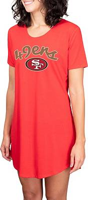 Concepts Sport Women's San Francisco 49ers Red Nightshirt product image