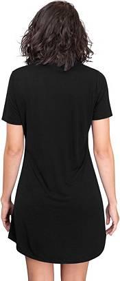 Concepts Sport Women's Carolina Panthers Black Nightshirt product image
