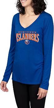 Concepts Sport Women's New York Islanders Marathon Royal Long Sleeve T-Shirt product image