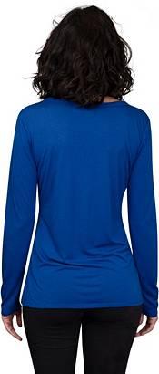 Concepts Sport Women's New York Rangers Marathon Royal Long Sleeve Shirt product image