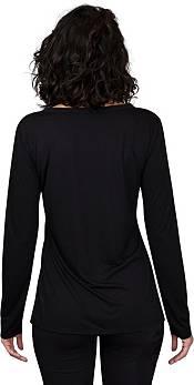 Concepts Sport Women's Philadelphia Eagles Marathon Black Long Sleeve Shirt product image