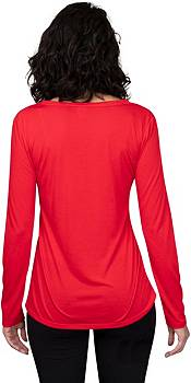 Concepts Sport Women's Chicago Blackhawks Marathon  Knit Long Sleeve T-Shirt product image