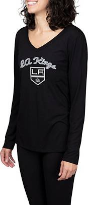 Concepts Sport Women's Los Angeles Kings Marathon  Knit Long Sleeve T-Shirt product image