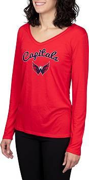 Concepts Sport Women's Washington Capitals Marathon  Knit Long Sleeve T-Shirt product image