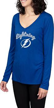 Concepts Sport Women's Tampa Bay Lightning Marathon  Knit Long Sleeve T-Shirt product image