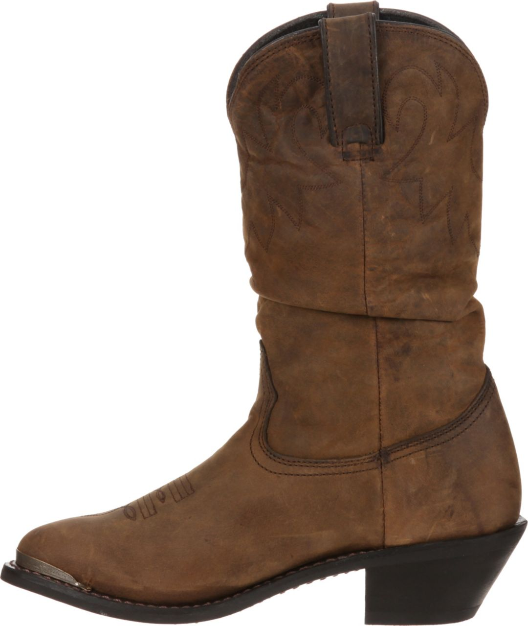 new lower prices hot-selling official durable in use Durango Women's Distressed Tan Slouch Western Boots