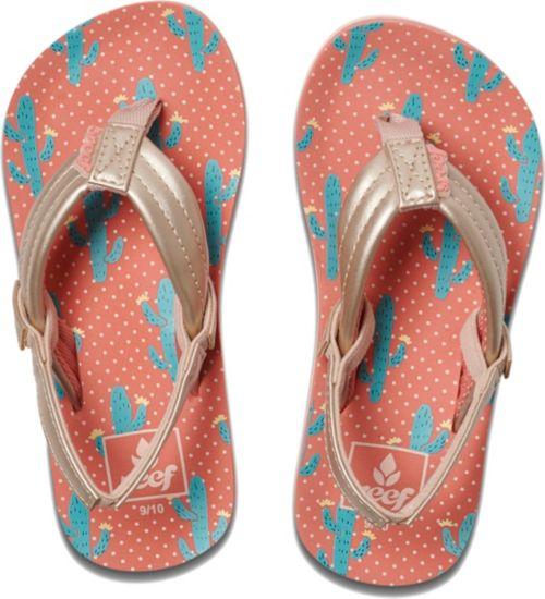 2f8369f69 Reef Kids  Little Ahi Cactus Flip Flops