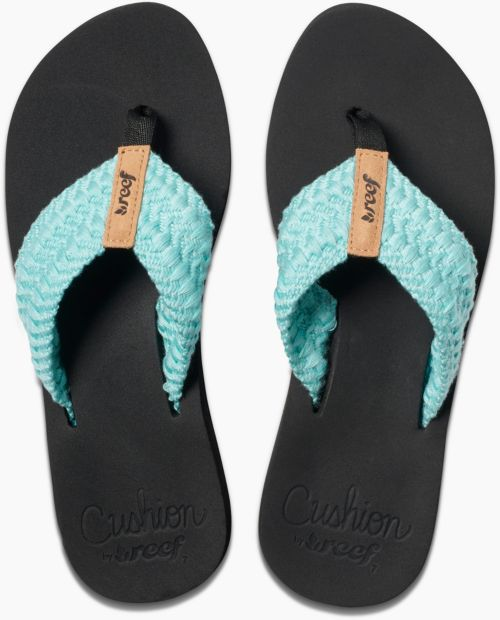 ce263cefe Reef Women s Cushion Threads Flip Flops