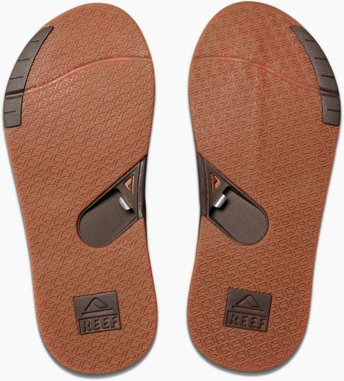 37f3e9b5a868 Reef Men s Leather Fanning Low Flip Flops