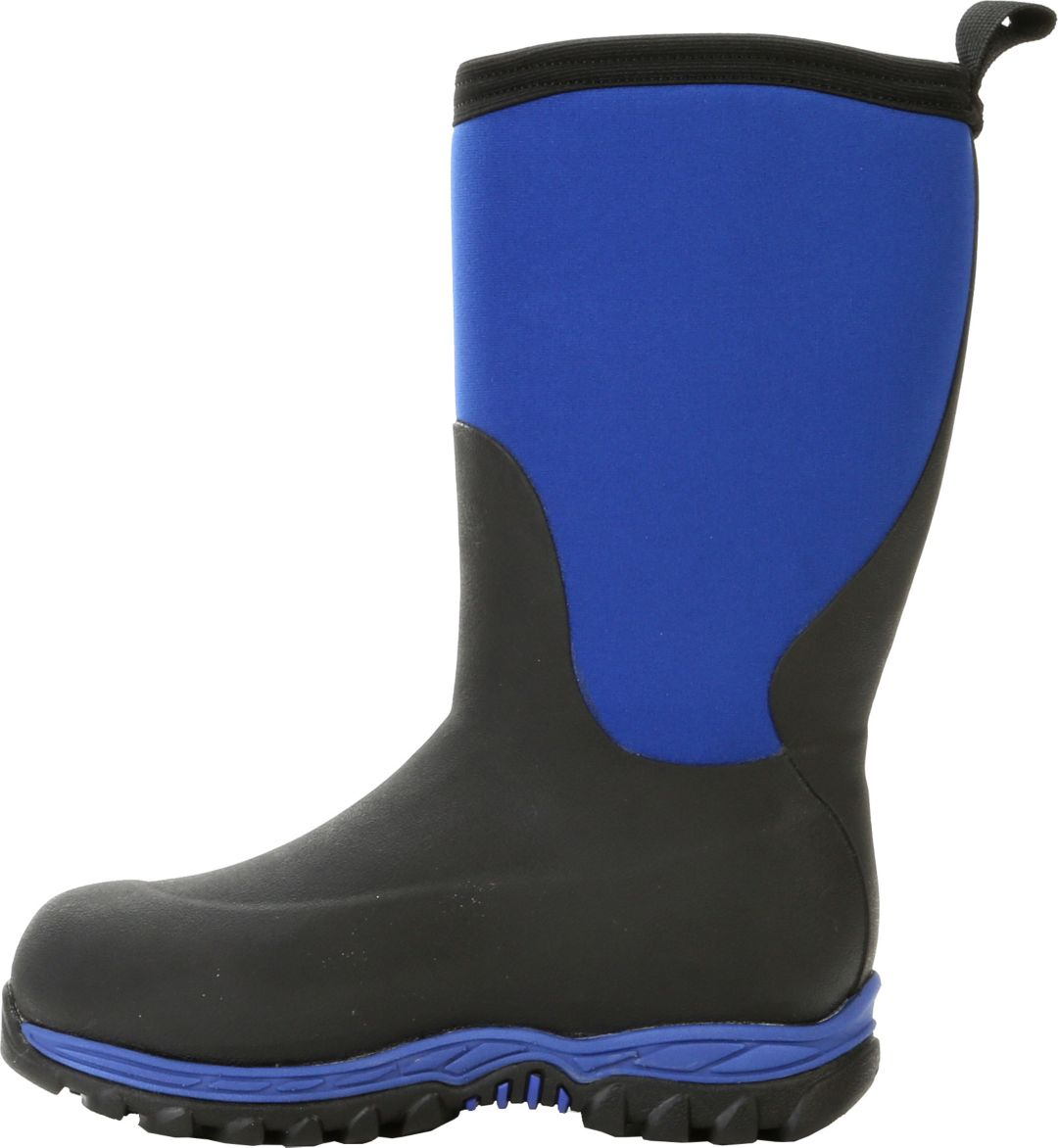 Muck Boot Co Kid/'s Rugged II Blue//Black Childrens Youth Sizes RG2-200 BRAND NEW