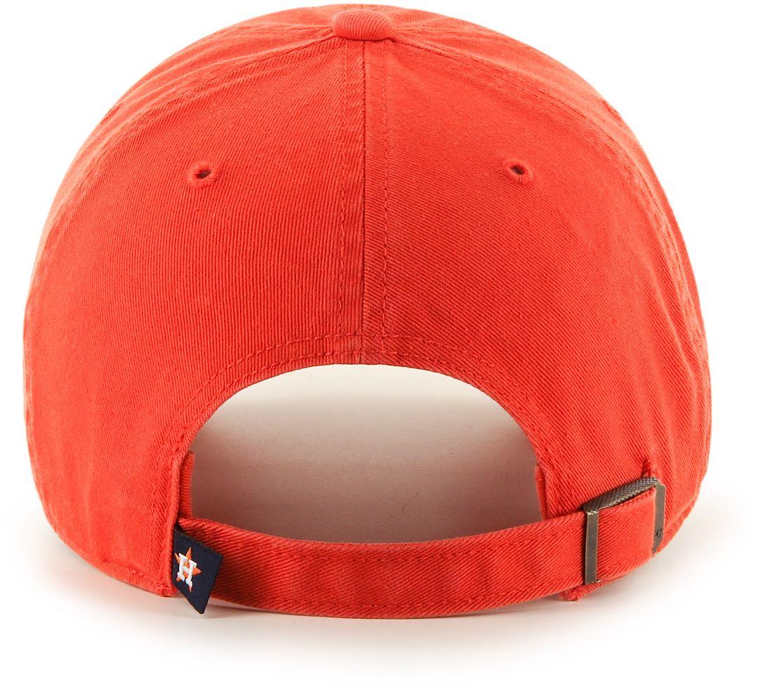 7a16c8f19 '47 Men's Houston Astros Clean Up Orange Adjustable Hat