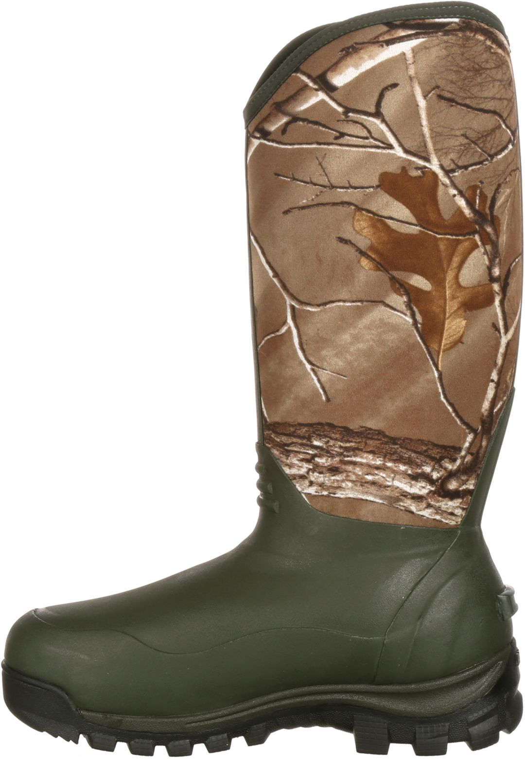 b039b3f5d5a Rocky Men's Core Rubber Realtree Xtra Waterproof 1000g Hunting Boots