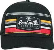 Top of the World Men's Louisville Cardinals Route Adjustable Black Hat product image