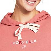 Ivory Ella Women's Colorblock Logo Hoodie product image