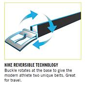 Nike Laser Camo Plaque Reversible Golf Belt product image