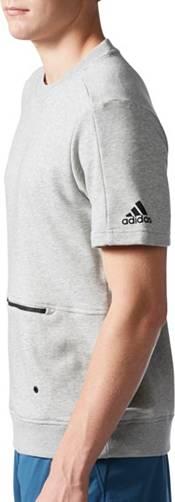 adidas Men's Sport ID Crew Short Sleeve Sweatshirt product image