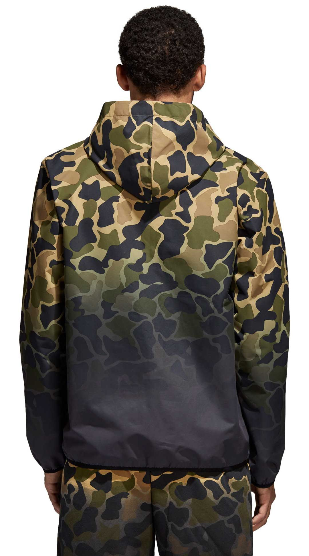 eabd08a648e00 adidas Originals Men's Camo Windbreaker Jacket. noImageFound. Previous. 1. 2