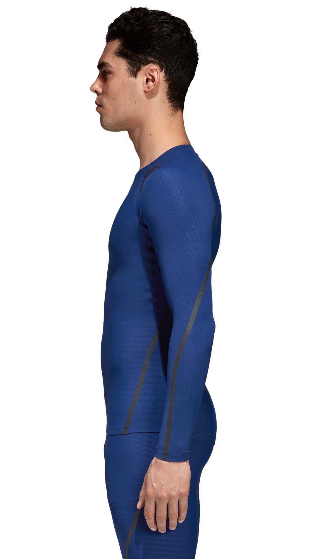 7b2bc57694cbb adidas Men's Alphaskin 360 Long Sleeve Shirt. noImageFound. Previous. 1. 2