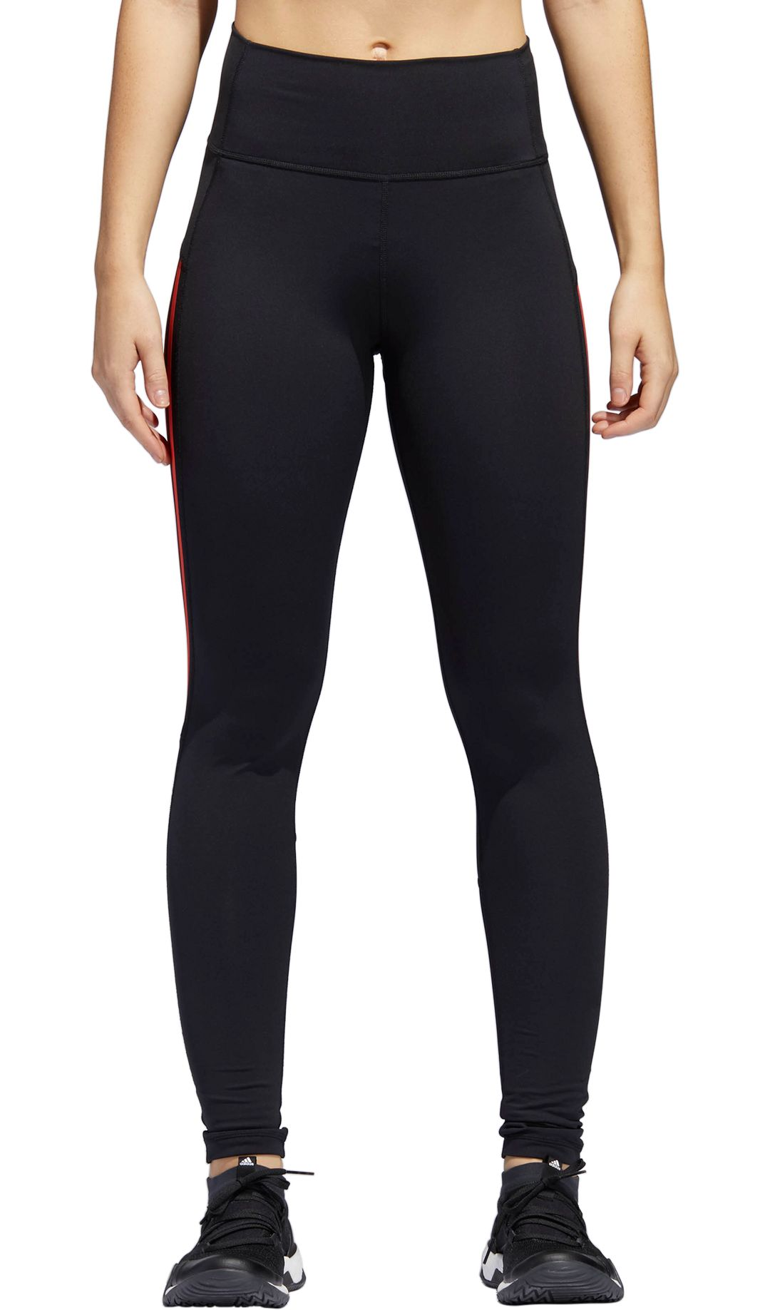 babfb13a22d948 adidas Women's Believe This 3-Stripe 7/8 Training Tights | DICK'S ...