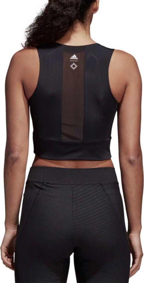 39a473017e261 adidas Women s Wanderlust Yoga Crop Tank Top