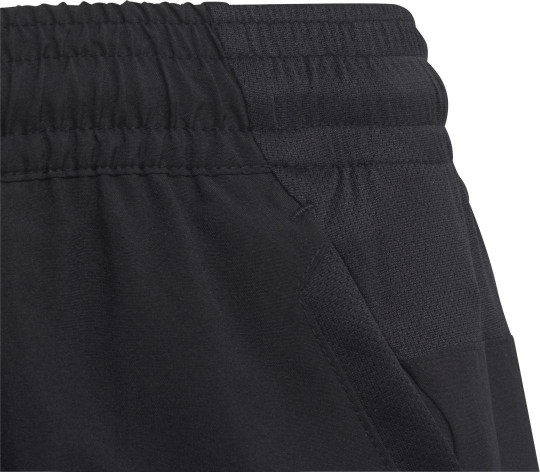 adidas Boys' Club 3 Stripe Tennis Shorts