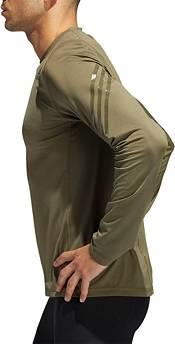 adidas Men's Alphaskin 3-Stripes Long Sleeve Shirt product image