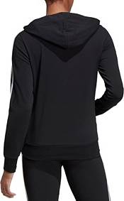 adidas Women's Essentials 3-Stripes Jersey Full Zip Hoodie product image