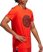 adidas Men's Live By The Ball Graphic Basketball T-Shirt product image