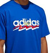 adidas Originals Men's Brush Stroke Graphic T-Shirt product image