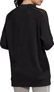 adidas Originals Women's Bellista Lace Crewneck Sweatshirt product image