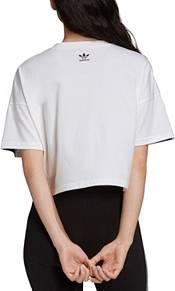 adidas Originals Women's Large Logo Cropped T-Shirt product image