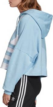 Adidas Originals Women's Large Logo Cropped Hoodie product image
