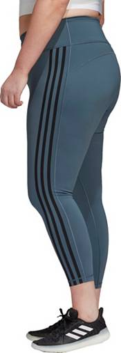adidas Women's Plus Size Believe This 2.0 3-Stripes 7/8 Tight product image