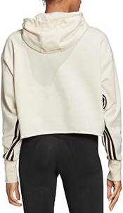 adidas Women's Recycled Cotton Crop Hoodie product image