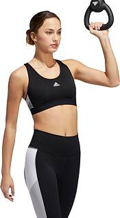 adidas Women's Believe This Retro Block Sports Bra product image