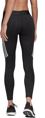 adidas Women's Alphaskin Sport 3-Stripes 7/8 Compression Tights product image