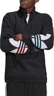 adidas Originals Men's Tricolor Polar Fleece 1/2 Zip Pullover product image