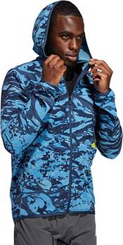 adidas Men's 3 Bar Camo Full Zip Hoodie product image