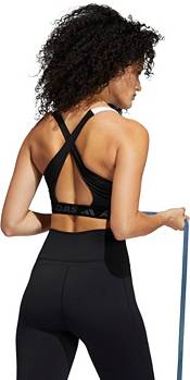adidas Women's Don't Rest 3-Stripes Crossback Medium Support Sports Bra product image