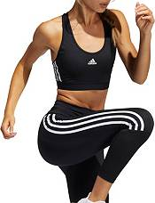 adidas Women's Believe This 3-Stripes Rib Racerback Medium Support Sports Bra product image