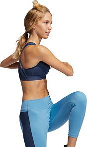 adidas Women's Believe This Lace-Up Crossback Medium Support Sports Bra product image
