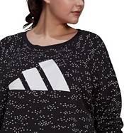 adidas Women's Plus Size Winners Crewneck Sweatshirt product image
