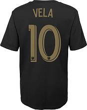 MLS Youth Los Angeles FC Carlos Vela #10 Black Player T-Shirt product image