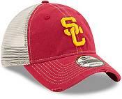 New Era Men's USC Trojans Cardinal Worn Trucker Adjustable Hat product image