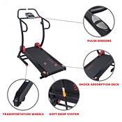 Sunny Health & Fitness Cardio Trainer Manual Treadmill product image