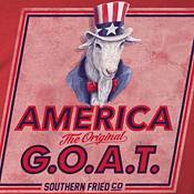 Southern Fried Cotton Men's The Original G.O.A.T T-Shirt product image